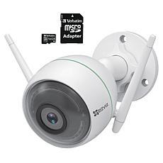 EZVIZ C3WN 1080p Full HD Outdoor Smart Wi-Fi Camera w/Memory Card