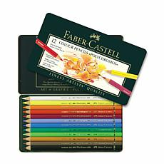 FABER-CASTELL Polychromos Colored Pencil Set of 12