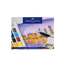 Faber-Castell Watercolor Pan Set of 36