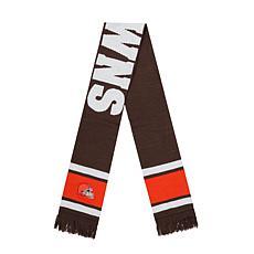 Fan Favorite Cleveland Browns NFL Vantage Jacquard Scarf