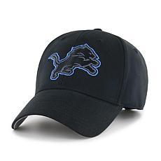 Fan Favorite Detroit Lions NFL Black Classic Adjustable Hat