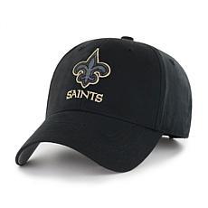 Fan Favorite New Orleans Saints NFL Black Classic Adjustable Hat