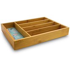 "Farm Heart 5 Compartment 14.2"" Cutlery Tray"