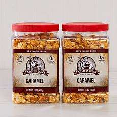 Farmer Jon's 2-pack 16 oz. Jars Caramel Popcorn Auto-Ship®