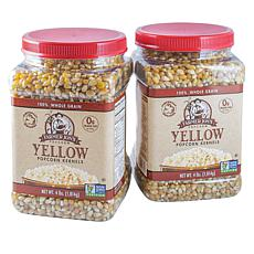Farmer Jon's 2-pack of 4 lb. Jars of Yellow Popcorn Kernels