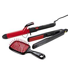 FHI Heat Platform Styler, Curler and Unbrush Set
