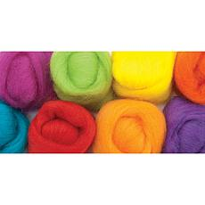 Fiesta Wool Roving - 8 Pack