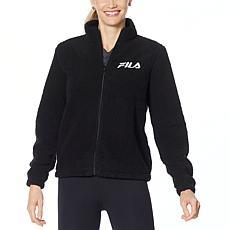 Fila Faux Sherpa Full-Zip Jacket