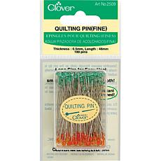 Fine Quilting Pins - 100-pack