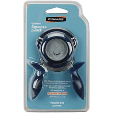 "Fiskars 1/4"" Squeeze Corner Punch - Round The Bend"