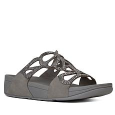 FitFlop Bumble Crystal Slide Sandal