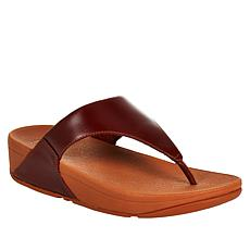 99e799eb83da FitFlop Lulu Leather Toe Post Sandal