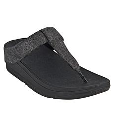 FitFlop Mina Shimmer Denim Toe Post Sandal