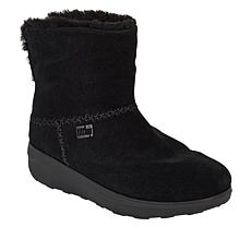 FitFlop Mukluk Shorty Leather Shearling Bootie