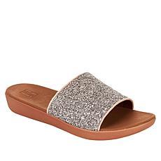 FitFlop Sola Glitter Slide Sandal