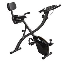 FitQuest Flex Express Upright and Recumbent Bike with Resistance Bands