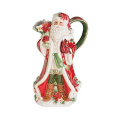 Fitz and Floyd Cardinal Christmas Pitcher