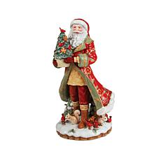 Fitz and Floyd Hand Painted Bellacara Santa Figurine