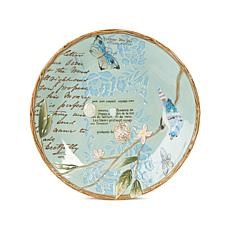 Fitz and Floyd Hand Painted Toulouse Round Platter