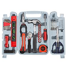Fleming Supply 131-Piece Heat-Treated Tool Kit with Carrying Case