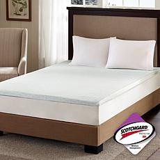 "Flexapedic by Sleep Philosophy 2"" Mattress Topper - T"