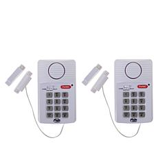 Flipo Door Alarm with Keypad 2-pack