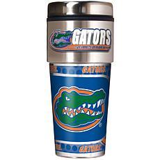 Florida Gators Travel Tumbler w/ Metallic Graphics and Team Logo