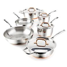 FOOD & WINE™ 10-piece Stainless Steel Cookware Set