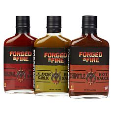 Forged in Fire 3-pack Hot Sauces Auto-Ship®