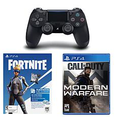 Fortenite Controller and Game Bundle with COD Modern Warfare Game