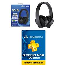 Fortnite Headset Bundle and PSN 12 Month Card