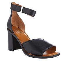 Franco Sarto Caia Ankle Strap Leather Sandal