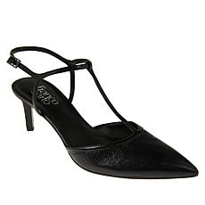 Franco Sarto Jubilant Leather T-Strap Pump
