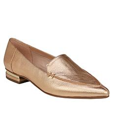 Franco Sarto Starland Pointed-Toe Leather Slip-On Loafer