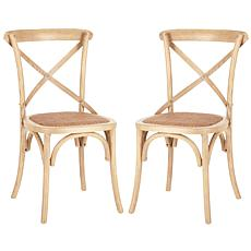 Franklin X-Back Side Chair (Set Of 2)