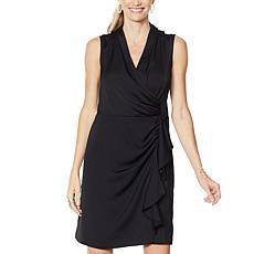 G by Giuliana Black Label Wrap Dress