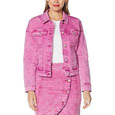 G by Giuliana Boxy Denim Jacket