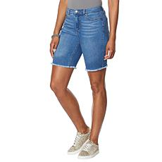G by Giuliana Cut-Off Denim Bermuda Short
