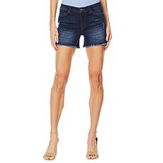 G by Giuliana Downtown Denim Girlfriend Short - Indigo