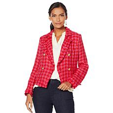 G by Giuliana Herringbone Blazer
