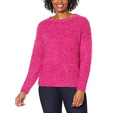 G by Giuliana Smushy Yarn Sweater