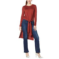 G by Giuliana Soft Slit Duster Sweater