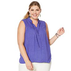 G by Giuliana Summer Shine Woven Top
