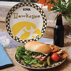 Gameday Ceramic Plate - Iowa