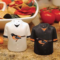 Gameday Ceramic Salt and Pepper Shakers - Baltimore Ori