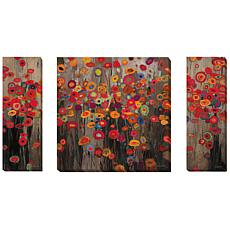 """Garden Parade"" by Don Li-Leger 3-piece Gallery-Wrapped"