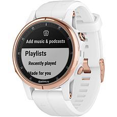 Garmin Fenix® 5S Plus Sapphire Edition Rose Gold Multisport GPS Watch