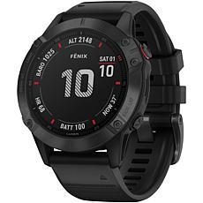 Garmin Fenix 6 Pro Multisport GPS Watch in Black