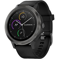 Garmin vivoactive® 3 Smartwatch - Black with Slate Hardware