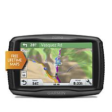 "Garmin Zumo 595LM 5"" GPS w/Motorcycle & Vehicle Mounts"